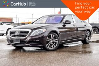 Used 2015 Mercedes-Benz S-Class S 550|4Matic|Navi|Pano Sunroof|Backup Cam|Bluetooth|Leather|19