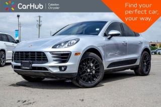 Used 2016 Porsche Macan S|AWD|Navi|Pano sunroof|Backup Cam|Bluetooth|Heat & Cold Frnt Seats|18