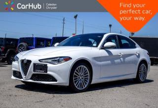 Used 2017 Alfa Romeo Giulia Ti AWD Navigation Dual Pane Sunroof Backup Camera Leather Bluetooth Remote Start Blind Spot 18