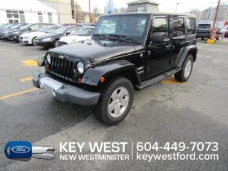 Used 2011 Jeep Wrangler Unlimited Sahara 4WD for sale in New Westminster, BC