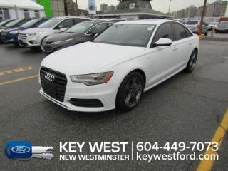 Used 2015 Audi A6 S-Line AWD Sunroof Leather Nav Cam Heated Seats for sale in New Westminster, BC