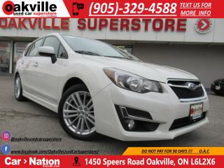 Used 2016 Subaru Impreza | AWD | SUNROOF | B\U CAM | HTD SEATS for sale in Oakville, ON
