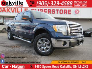 Used 2010 Ford F-150 XTR V8 | 4X4 | SUPER CREW | SIDE STEPS | LOW KM! for sale in Oakville, ON