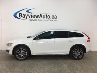 Used 2015 Volvo V60 Cross Country T5 Premier Plus - SUNROOF! HTD LTHR! REVERSE CAM! BLUETOOTH! BSA! for sale in Belleville, ON