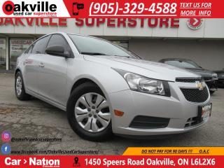 Used 2012 Chevrolet Cruze | ALLOYS | A/C | TINTS | BLUETOOTH for sale in Oakville, ON