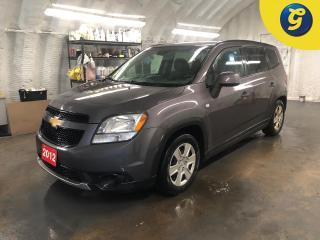 Used 2012 Chevrolet Orlando LT * On star * Remote start * Hands free steering wheel * Phone connect * Voice recognition * Keyless entry * Climate control * Cruise control * Tract for sale in Cambridge, ON