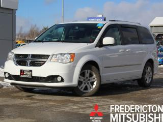 Used 2015 Dodge Grand Caravan Crew HEATED LEATHER   BACK UP CAM   SUNROOF for sale in Fredericton, NB