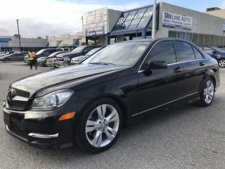 Used 2012 Mercedes-Benz C-Class BLIND SPOT|LANE ASSISST|NAVI|CAMERA|ALLOYS for sale in Concord, ON