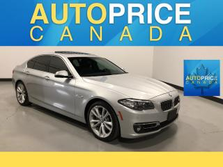 Used 2014 BMW 535 I xDrive MOONROOF|NAVIGATION|LEATHER for sale in Mississauga, ON