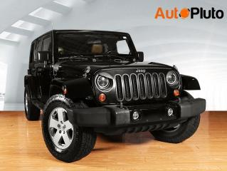 Used 2011 Jeep Wrangler UNLIMITED 4WD 4DR SAHARA for sale in Toronto, ON