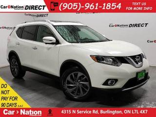 Used 2016 Nissan Rogue SL Premium| AWD| PANO ROOF| NAVI| LEATHER| for sale in Burlington, ON