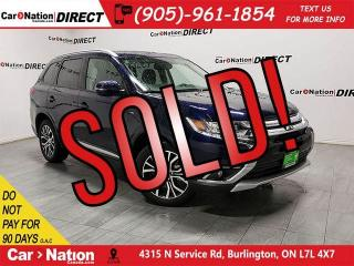 Used 2018 Mitsubishi Outlander ES Touring| AWC| 7-PASSENGER| SUNROOF| for sale in Burlington, ON