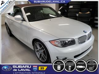 Used 2013 BMW 1 Series 128i Cabriolet 2 portes **Sièges chauffa for sale in Laval, QC