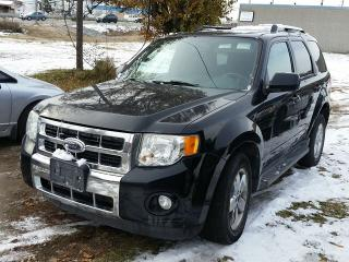 Used 2009 Ford Escape Limited 4X4 for sale in Gloucester, ON