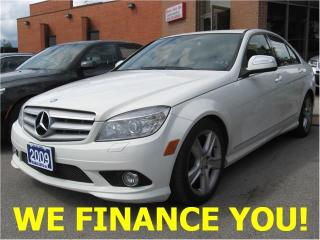 Used 2009 Mercedes-Benz C-Class 3.0L for sale in Toronto, ON