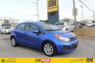 Used 2015 Kia Rio5 Lx+ Sièges Chauff for sale in Salaberry-de-Valleyfield, QC