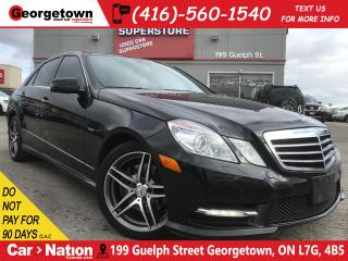 Used 2012 Mercedes-Benz E-Class E350 4MATIC | TAN LEATHER | NAVI | AWD | SUNROOF for sale in Georgetown, ON