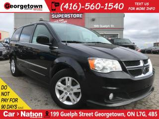Used 2017 Dodge Grand Caravan Crew| CAPTAINS | CAMERA | LEATHER | POWER DOORS for sale in Georgetown, ON