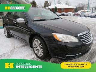 Used 2011 Chrysler 200 LTD AUT V6 A/C MAGS for sale in St-Léonard, QC