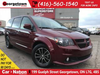 Used 2017 Dodge Grand Caravan GT| CAPTAINS | CAMERA | LEATHER | POWER DOORS for sale in Georgetown, ON