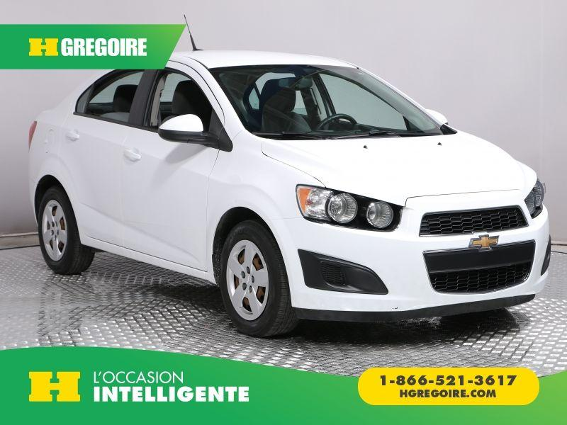 Used 2014 Chevrolet Sonic Ls Ac Bluethoot For Sale In St Lonard