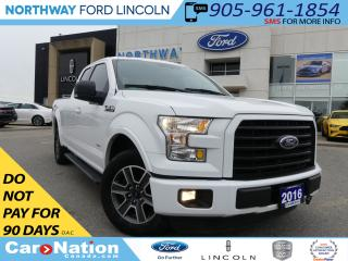 Used 2016 Ford F-150 XLT | REAR CAM | SUPER CAB | BED LINER | 4X4 | for sale in Brantford, ON