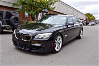 Used 2013 BMW 7 Series 750Li xDrive, M SPORT PACKAGE, FULL OPTIONS for sale in North York, ON