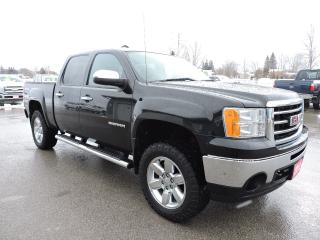 Used 2012 GMC Sierra 1500 SLT. Leather. 4X4. Sunroof. Navigation. Loaded for sale in Gorrie, ON