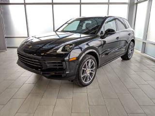 Used 2019 Porsche Cayenne DEMO | CPO | Ext. Warranty | Premium PKG | Carbon Interior for sale in Edmonton, AB