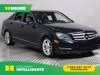 Used 2013 Mercedes-Benz C 300 C 300 AWD CUIR TOIT for sale in St-Léonard, QC