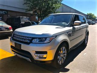 Used 2016 Land Rover Range Rover Sport 4WD 4dr Td6 HSE, 7 PASSENGER for sale in North York, ON