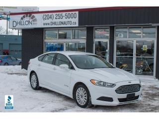 Used 2014 Ford Fusion Hybrid SE Fusion Hybrid for sale in Winnipeg, MB