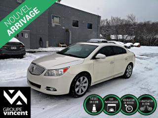 Used 2010 Buick LaCrosse Cxl Toit Pano Gar for sale in Shawinigan, QC