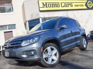 Used 2013 Volkswagen Tiguan COMFORTLINE! Panormic Roof! Only $145/Bi-weekly! for sale in St. Catharines, ON