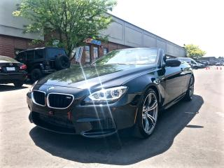 Used 2014 BMW M6 CONVERTIBLE, DRIVE ASSIST PKG for sale in North York, ON