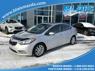 Used 2015 Kia Forte LX Plus for sale in Ste-Marie, QC