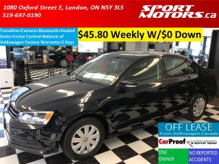 Used 2015 Volkswagen Jetta Trendline+Bluetooth+Cruise+Camera+Heated Seats for sale in London, ON