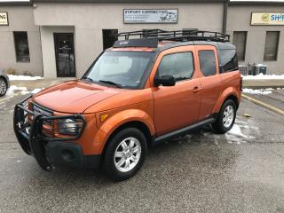 Used 2008 Honda Element EX-P 4WD,NO ACCIDENTS,ROOF RACK for sale in Burlington, ON