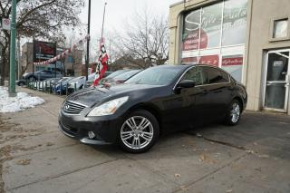 Used 2010 Infiniti G37 Berline 4 portes Luxe, traction intégral for sale in Laval, QC