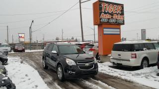 Used 2010 Chevrolet Equinox LTZ**LEATHER**CHROME WHEELS**V6 AWD**ONLY 76KMS** for sale in London, ON
