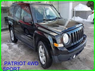 Used 2013 Jeep Patriot Mags A/c Bluetooth for sale in Longueuil, QC