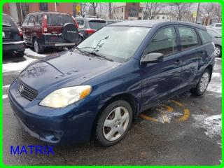 Used 2005 Toyota Matrix BASE for sale in Longueuil, QC