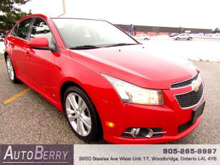 Used 2012 Chevrolet Cruze LT - RS Package - 1.4L for sale in Woodbridge, ON