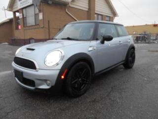 Used 2007 MINI Cooper S 1.6L Supercharged Auto Leather Sunroof ONLY 119K for sale in Rexdale, ON