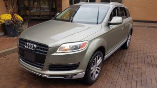Used 2007 Audi Q7 PREMIUM for sale in North York, ON