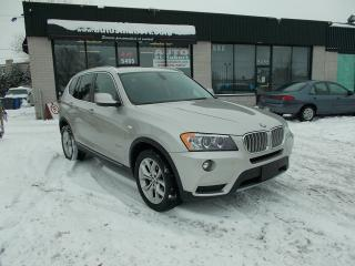 Used 2011 BMW X3 28I XDRIVE **NAVIGATION/GPS** for sale in St-Hubert, QC