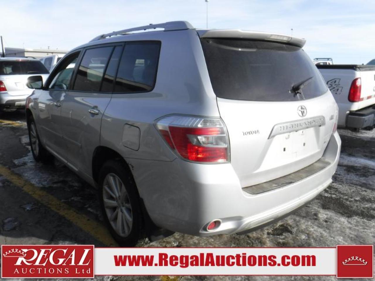 2008 Toyota Highlander Limited Hybrid 4D Utility 4WD