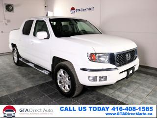 Used 2011 Honda Ridgeline 4X4 Crew Cab ParkAsst TowPkg Certified for sale in Toronto, ON