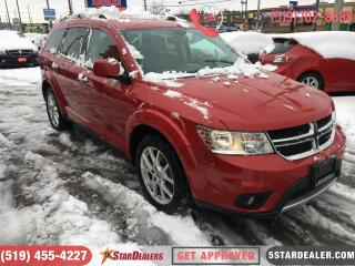Used 2016 Dodge Journey R/T | AWD | 7PASS | LEATHER for sale in London, ON