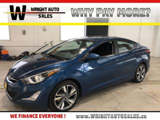 Used 2016 Hyundai Elantra GLS|SUNROOF|BACKUP CAMERA|98,633 KM for sale in Cambridge, ON
